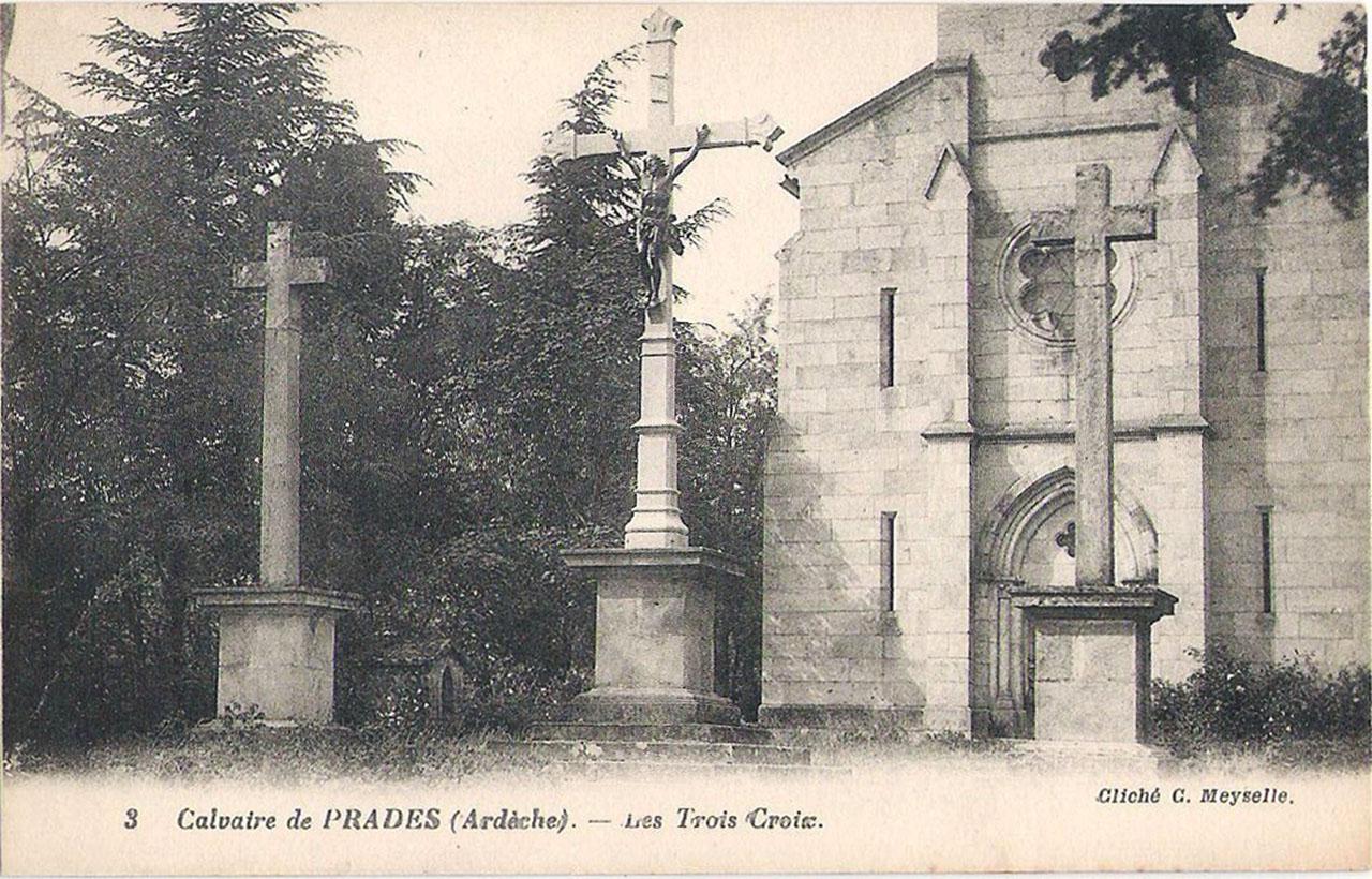 Calvaire de Prades, les trois croix