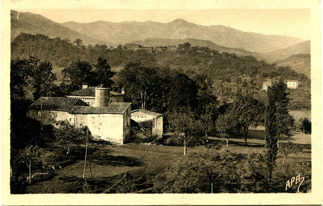 Château de Montséveny, avant 1951