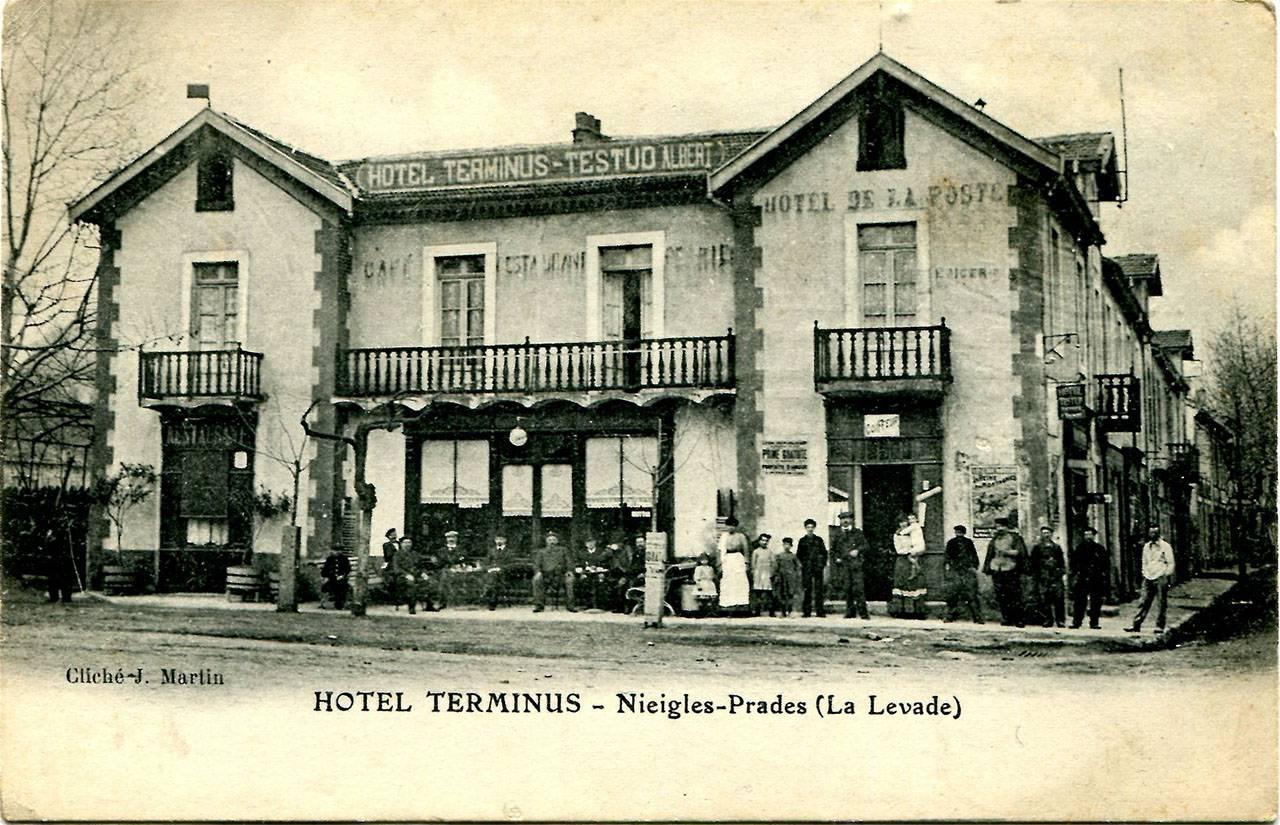 Hôtel Terminus, avant 1902