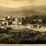 Prades depuis la route de Farges, entre les deux guerres
