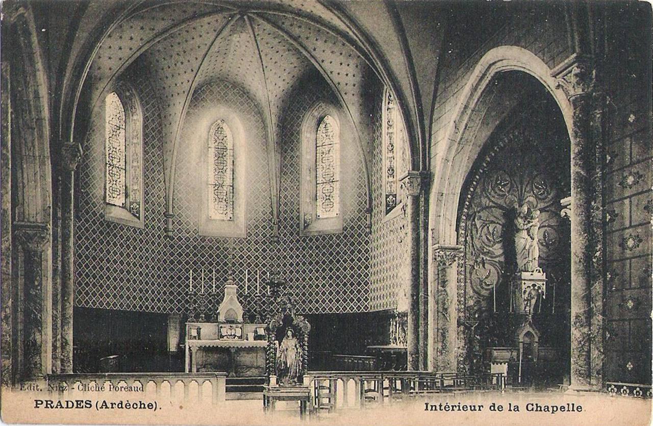 Prades, intérieur de la Chapelle