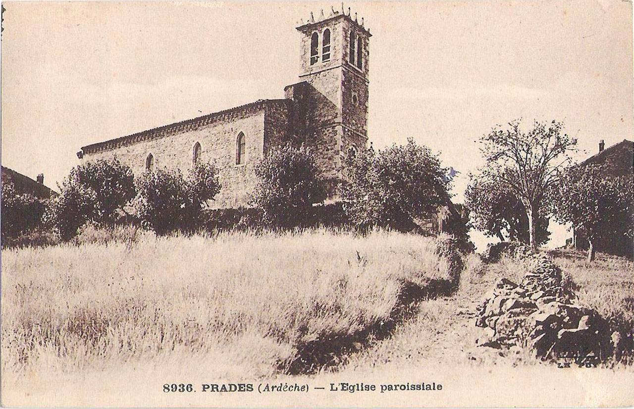 Prades, l'église paroissiale