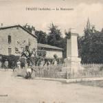 Prades, le monument aux morts