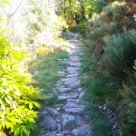 Le Chemin Férré, une des deux randonnées balisées du village