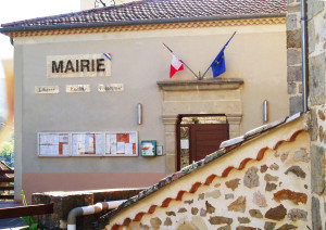 Facade de la mairie