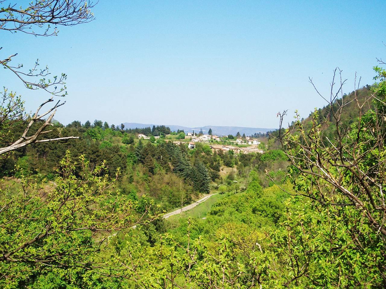 Le hameau des Fiagoux