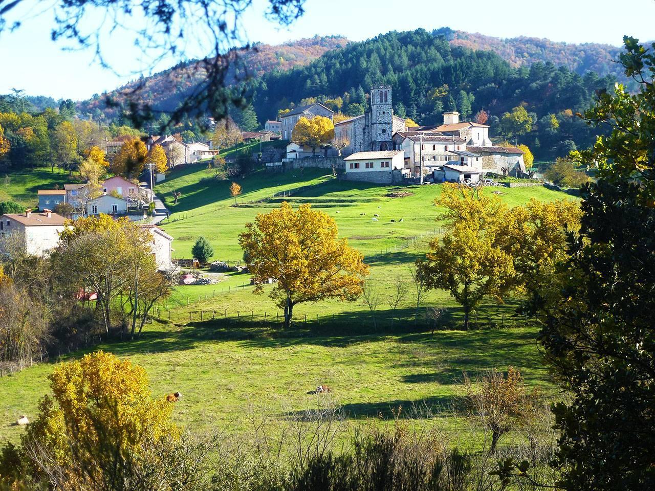 Le village depuis la RD19